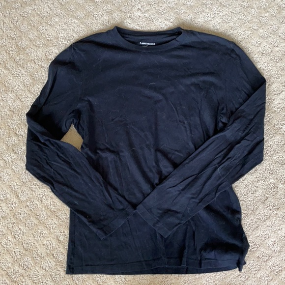 Banana Republic Fitted Crew Long Sleeve